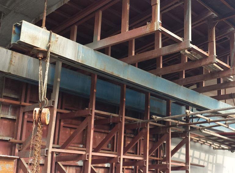 起重葫芦在高铁、高架公路施工中的应用案例02